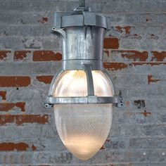 Holophane Pendant Light - Acorn, $325, now featured on Fab.