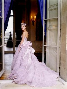 2000 ~ Lauren Bush ~ Crillon Ball ~ Vintage Christian Dior