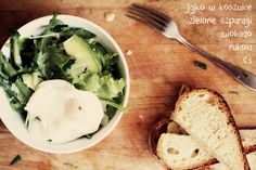 salad with asparagus and egg <3