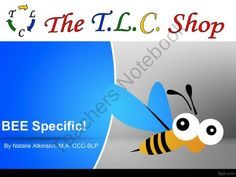 BEE Specific! - Describing/Defining Words from The T.L.C. Shop on TeachersNotebook.com (20 pages)