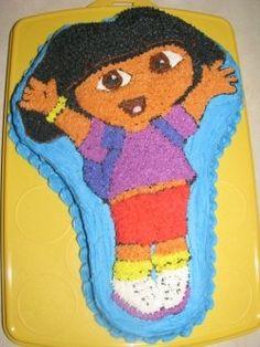 "We have this pan, but I may need to make Dora a ""beautiful dress"""