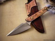"""1,137 Likes, 16 Comments - Serge Panchenko (@sergeknives) on Instagram: """"This knife was the start of my Relic series of knives, from 2010.  #sergeknives #usnstagram…"""""""