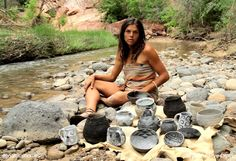 The Anasazi, also know as the Ancestral Puebloans, were an ancient people who lived throughout the American Southwest. Kelly Magleby, inspired by their culture, ingenuity and artistry, makes faithful reproductions of their pottery.