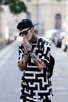 Follow for the best of street fashion  follow@sickstreetfashionon instagram!