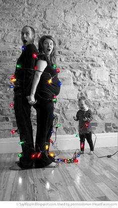 How cute is this Christmas Card idea? The faces really make this photo from Jillian Murphy great. #Christmas  http://www.iheartfaces.com/2012/11/funny-christmas-card-photo-ideas/ #giftsthatdo #photo
