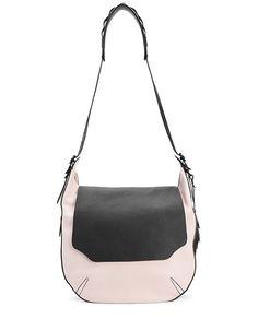 rag & bone Official Store, Bradbury Large Flap Hobo - Blush Multi, blush multi, Womens : Store : Handbags, W242116CC