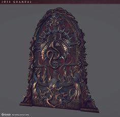 Door Throne, Jose Grandal on ArtStation at http://www.artstation.com/artwork/door-throne
