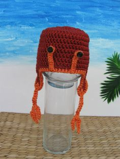 Who wouldn't wear this awesome lobster hat?