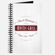 TVD - Mystic Grill red Journal for