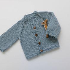 Casaco de bebé em tricot casaquinho recém by pontinhosmeus
