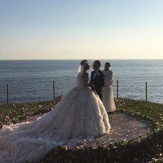 La Dolce Vita: Giovanna Battaglia Wears Alexander McQueen to Her Wedding in Capri