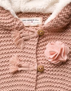 flower patch coat - Coats - Baby girl (3-36 months) - Kids - ZARA United States