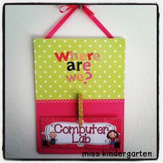 Super cute crafty ideas for around the room from  Miss Kindergarten: classroom ideas