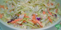 Low Carb cremiger Krautsalat, low carb Diät rezept