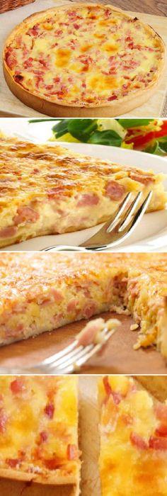 Quiche Lorraine (receta fácil)  #quichelorraine #facil #receta #recipe #casero #tartas #pastel #nestlecocina #bizcocho #bizcochuelo #tasty #cocina #cheesecake #helados #budin #flanes #pan #masa #panfrances #panes #panettone #pantone #panetone #navidad   Si te gusta dinos HOLA y dale a Me Gusta MIREN.. Crustless Quiche Lorraine, Quiche Lorraine Recipe, Mini Quiches, Chicken Salad Recipes, Pasta Recipes, All Butter Pie Crust, Mets, Macaron, Brunch Recipes