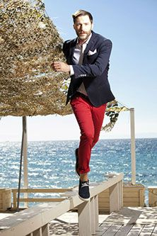 Me and My - Ανδρική ένδυση - Mens fashion Summer 2014, Spring Summer, Colored Pants, Mens Fashion, Sky, Collection, Moda Masculina, Heaven, Man Fashion
