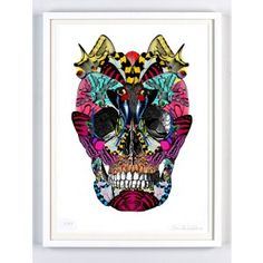 Skull Art Print | Available online at everythingbegins.com