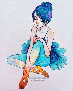 Magic Ballet Shoes by Qinni