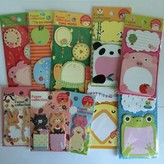 Lots of super cute post its to make a boring planner look fun :)