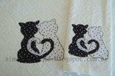 Faço trabalhos artesanais em toalhas, fraldas, camisetas, panos de prato, etc...