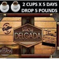 If you enjoy coffee and want to lose weight inbox me.  Iaso Delgado slimming coffee allows you to lose 5 pounds in 5 days just but drinking 2 cups of coffee per day...