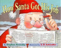 How Santa Got His Job:Amazon:Books