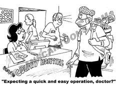 Nurse Nursing Cartoon 120 a Cartoon Image and funny joke for license by Dan Rosandich