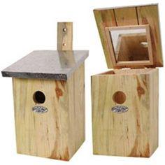 Greatest Bird Feeders - Mirrored Nesting Birdhouse $35.20