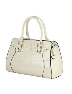 Forma horizontal PU couro Tote Bag para mulheres - Milanoo.com