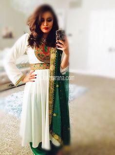 #afghan #style #dress #nice #color #afghangirl Afghan Clothes, Afghan Dresses, Afghan Girl, Vintage Wear, Afghanistan, Indian Wear, Traditional Outfits, Paradise, Dressing