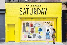 Pop-up Shop-up with Mare Weiss Saturday Saturday, Kate Spade Saturday, Timothy Goodman, Halloween City, Target, Pop Up Window, Shop Window Displays, Letter Art, Creative Studio