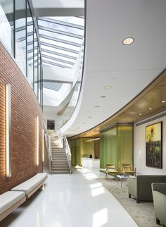 Ballinger Interior Design Healthcare : Lancaster General Hospital, Ann B Barshinger Cancer Institute