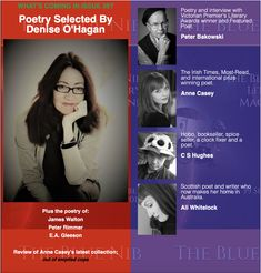Poetry from Australia & New Zealand selected by Denise O'Hagan Irish Times, Award Winner, New Zealand, The Selection, Writer, Poetry, Australia, Blue, Writers