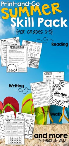 This summer skill pack is perfect for my students who need extra practice to keep their newly acquired skills this summer. The differentiation options are perfect for making sure each child gets exactly what they need even when I am not there.  Pretty sure next year's teacher will love me for this.