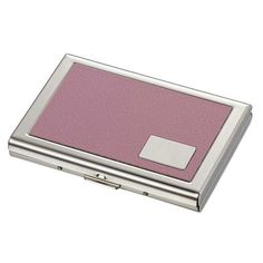 43 best business card cases for women images on pinterest business delilah pink leather credit card case colourmoves