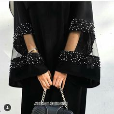 Get this stunning Abaya now for only Rs 3000 - # . - Get this stunning Abaya now for only Rs 3000 – - Fashion Details, Look Fashion, Diy Fashion, Fashion Clothes, Fashion Dresses, Womens Fashion, Fashion Design, Fashion Jewelry, Abaya Designs