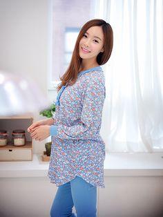 Banibella Chamomile Flowers homewear sleepwear / cotton 100% / the best quality