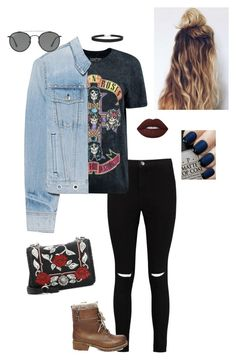 Trendy concert outfit