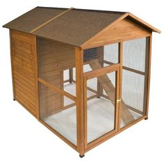 The Ware Premium Chick-N-Lodge provides ample space for your chickens to live the good life. Finding the right house is important for your own quality of life,
