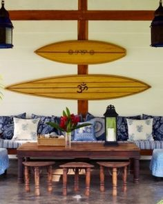 Day 10 - Taking a different spin on this clue by including a photo with a surfboard but without a beach! You can still enjoy the essence of the beach with the surf decor and ocean views from the spa at the Blue Osa in Costa Rica, while getting pampered! #Jetsetter  #JSSurf