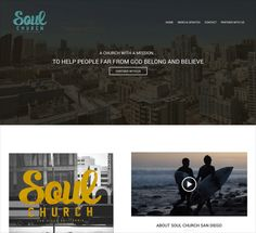 Soul is a church that teaches the Word of God in a clear, concise, and compelling way.