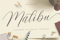 Malibu Script by Genesis Lab on @creativemarket