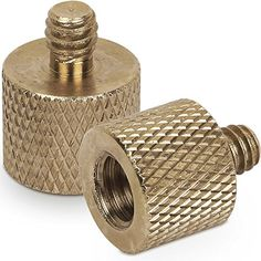 Standard 3816 Female to 1420 Male Tripod Thread Reducer Screw Adapter Brass Precision Made 2 Pack -- You can find more details by visiting the image link.