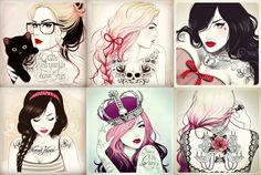 sketches by Tati Ferrigno
