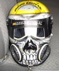 custom painted Motorcycle Helmets   custom helmet airbrushing