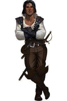 7th Sea 2e Character: Ennio Vespucci (credit to John Wick Presents)