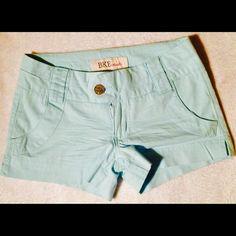 BKE shorts Mint green BKE shorts very cute. BKE Shorts Jean Shorts