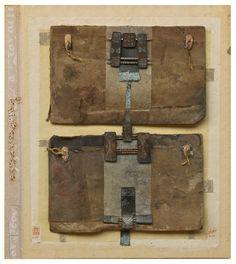 x x x ~ 'Irini Gonou' Found Object Art, Art Object, Magic Squares, Collage Art Mixed Media, Artist Sketchbook, My Art Studio, Book Sculpture, Vintage Artwork, Assemblage Art