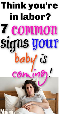 The top common ways to know you're going into labor. Third trimester signs to know baby is coming. Labor signs and tips for new mama to be! Postpartum Blues, Postpartum Care, Postpartum Recovery, Pregnancy Timeline, Pregnancy Checklist, Pregnancy Tips, All About Pregnancy, Pregnancy Months, First Pregnancy