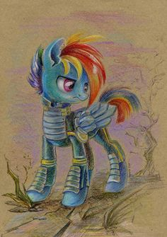 Wardashie by Maytee on DeviantArt Mlp My Little Pony, My Little Pony Friendship, Raimbow Dash, Ponies, Rooster, Appreciation, Pikachu, Rainbow, Deviantart